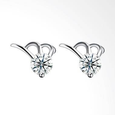 SOXY SH-E0092 New Fashion Simple Ms. 925 Sterling Anting - Silver