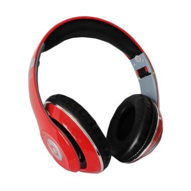 Monster TM-010 Beats by dr.dre Blue ...  Wireless Headset - Merah