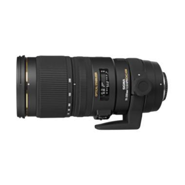Sigma 70-200mm f/2.8 EX APO DG OS HSM Lensa Kamera for Nikon