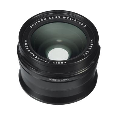 Fujifilm WCL-X100 II Wide Conversion Lens - Black