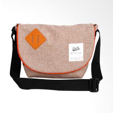 Anello Westen Sling Bag - Brown