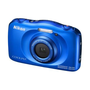 Nikon Coolpix W100 Kamera Pocket - Blue