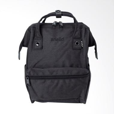 Anello HD Casual Backpack Multifungsi - Black