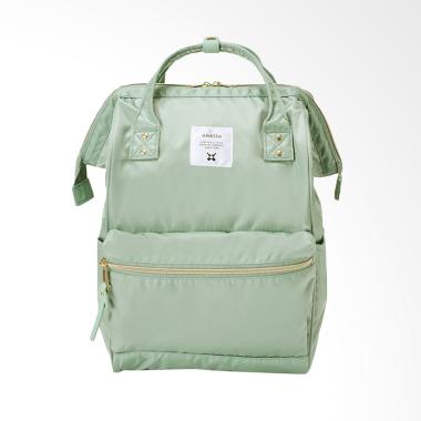 Anello Glossy Poly Twill Backpack T ...  Multifungsi - Mint Green
