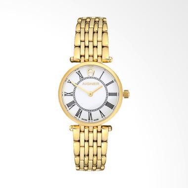 Aigner Carpi A28211 Jam Tangan Wanita - Gold