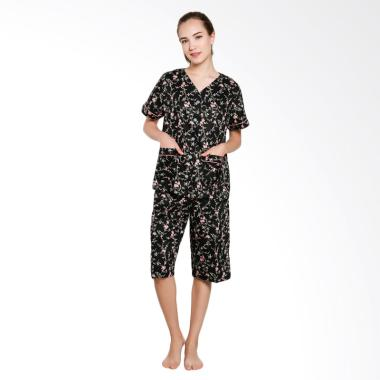 Just Fashion Baju Tidur Wanita - Hitam