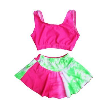 Rainy Collections Motif Baju Renang Bayi - Pink Hijau