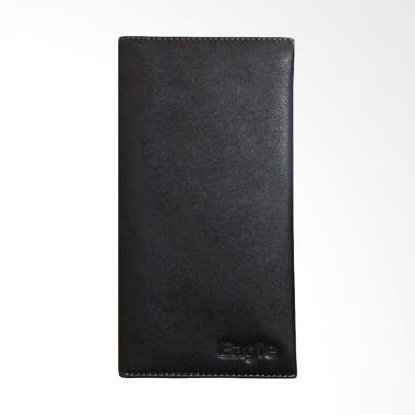 Eagle Genuine Leather Dompet Kulit Pria - Hitam [6862]