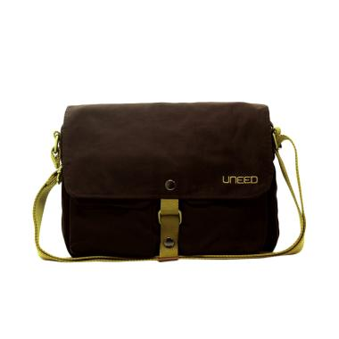 Uneed UB210 Indie Tas Sling Bag for Tablet 10 Inch - Brown