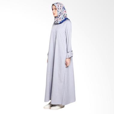 Dauky L Palda Long Dress Muslim - Grey