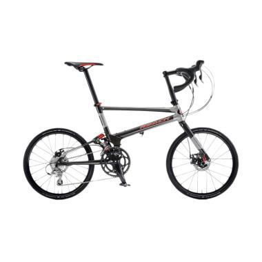 Delta Cycles Reach R20 Sepeda Lipat - Hitam
