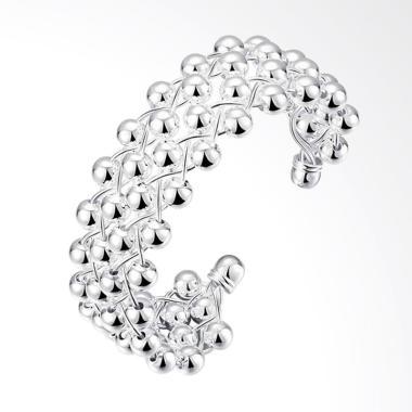 SOXY LKNSPCB022 New Fashion Spherical Jewelry Bracelet - Silver
