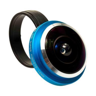 Polaroid CF 238 Super Fish eye Lens - Sky Blue