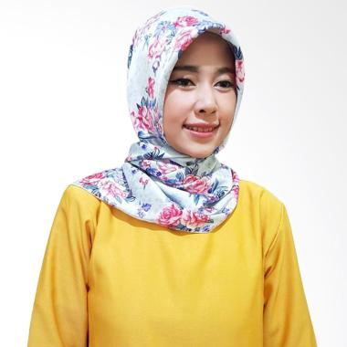 Gita Sukma Aster Hijab Segiempat - Blue Red