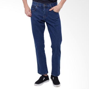 Edwin Vegas 03 Reguler Fit Celana Jeans Pria - Medium Blue