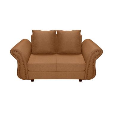 FCENTER Velona 2 Seater Sofa - Coklat Pulau Jawa*)