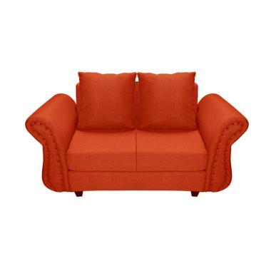 FCENTER Velona 2 Seater Sofa - Merah Pulau Jawa*)