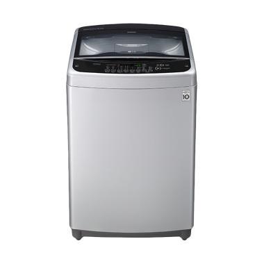 LG T2108VSAM Mesin Cuci - Silver [Top Loading/ Khusus Jadetabek]