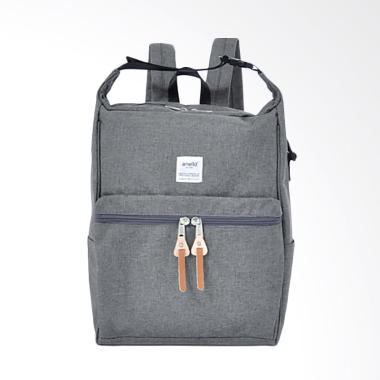 Anello AU-N0561 2 Way Backpack & Sh ... lyester Tas Wanita - Gray