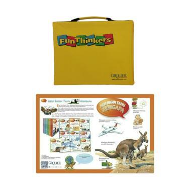 GROLIER Fun Thinkers with Aku Ingin Tahu Mengapa Mainan Edukasi Anak