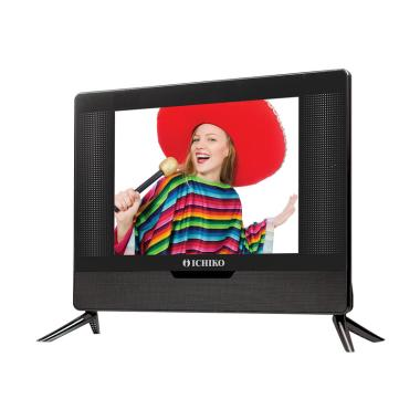 Ichiko S1518 15 HD Basic TV LED - Hitam [15 Inch]