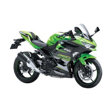 Indent - Kawasaki New Ninja 250 SE Sepeda Motor - Green Black
