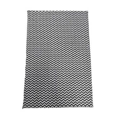 MYBEDS Zig Zag Monochrome Busa Crib Kasur Bayi [60 x 110 x 8 cm]