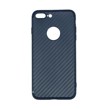 Lize Carbon iPhone 7 Plus Case Slim ... athin / Jelly Case - Navy