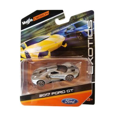Maisto  Ford Gtcast Silver