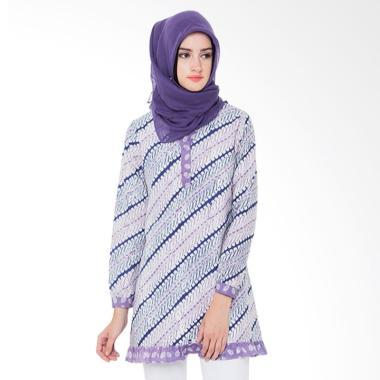 arya-putri-batik_arya-putri-batik-chandani-atm-006-pp-baju-batik-muslim-wanita---purple_full05 Koleksi List Harga Model Busana Muslim Batik Wanita Terbaru Terbaik 2018