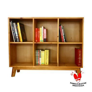 Uwitan Book Case [3 x 2 Kompartment]