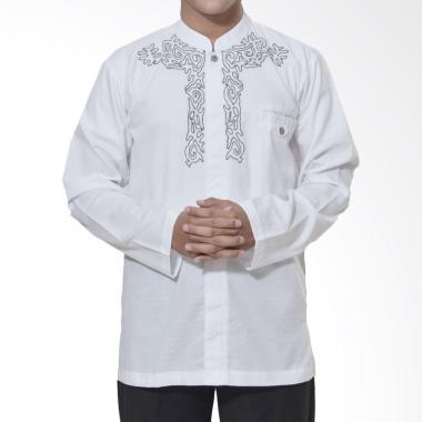 Zaen Hawary SY Baju Koko Pria - Putih