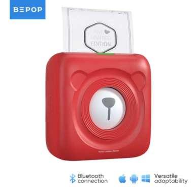 harga Elegan Bepop Mini Portable Pocket Bluetooth Photo Printer Thermal PeriPage A6 - A6 White Berkualitas Blibli.com