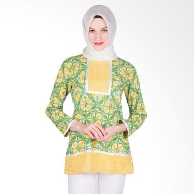 Arya Putri Batik ATM-013-G Kamakshi ... tik Muslim Wanita - Green