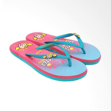 Ando SGL 482 Sandal Jepit Wanita - Tosca Fushia