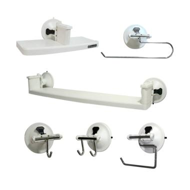 Hometek Green Super Hooks with Wall ... ung [BRH-8201-SET6/6 pcs]