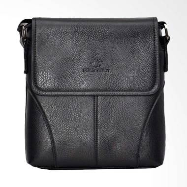 Polo Team Sling Bag Pria - Black [994-2/ Size Medium]