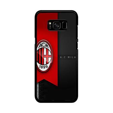 Acc Hp Ac Milan Football Club E1747 Casing for Samsung Galaxy S8 Plus
