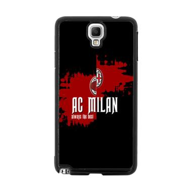 Acc Hp Ac Milan line Flag E1748 Casing for Samsung Galaxy Note 3 Neo