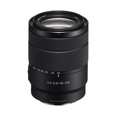 Sony E 18-135mm F3,5-5,6 OSS Lensa Kamera - Black