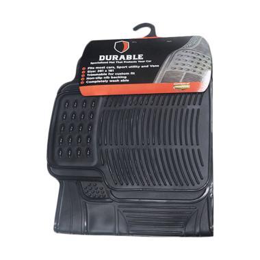 DURABLE PVC Karpet Mobil for Toyota Kijang LGX - Black