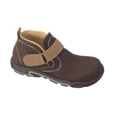 Syaqinah 080 Sepatu Boots Anak Laki-laki - Coklat