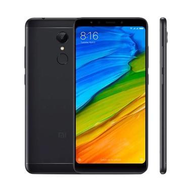 Xiaomi Redmi 5 Smartphone - Black [ ... Garansi Resmi TAM 1 Tahun