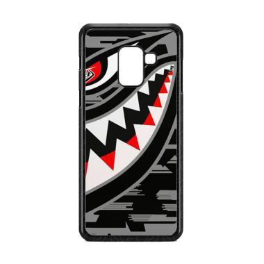 Cococase Troy Lee Designs P51 Grey E1529 Custom Casing for Samsung Galaxy A8 Plus 2018