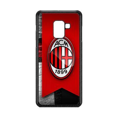 Cococase Ac Milan Footbal Club W523 ... msung Galaxy A8 Plus 2018
