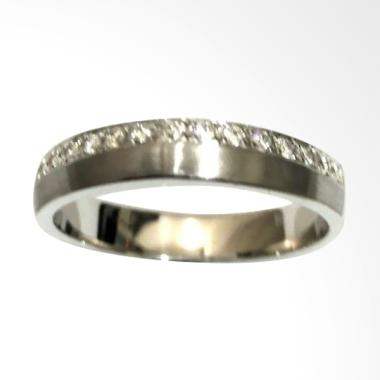 Pentacles FC02284 Wedding Ring White Gold With Diamond