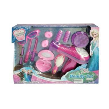 Frozen 0960240055 Beauty Set Rias Hair Dryer Mainan Anak
