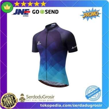 harga Baru Pakaian Olahraga Kaos Baju Jersey Sepeda Pria Short Sleeve ORIGINAL Diskon Blibli.com
