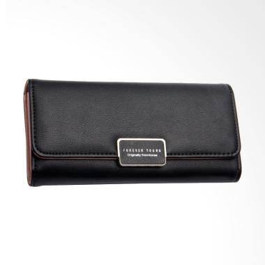 Forever Young Claire Wallet Dompet Wanita - Black
