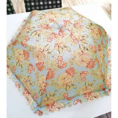 harga Tudung saji lipat besar payung motif shabby - Round H Multicolor Blibli.com